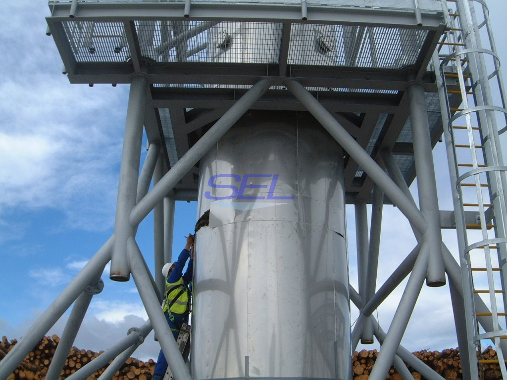 Combustion Exhaust Cladding