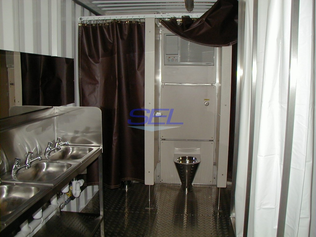Containerised Ablution Unit