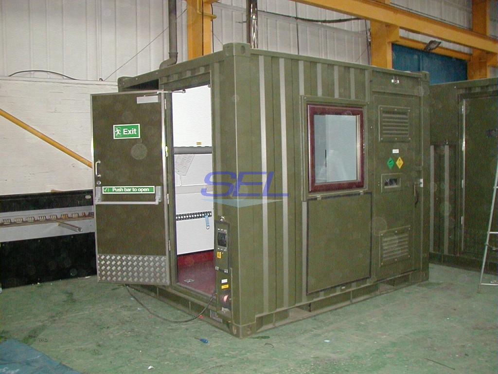 Containerised Gas Analyser Unit