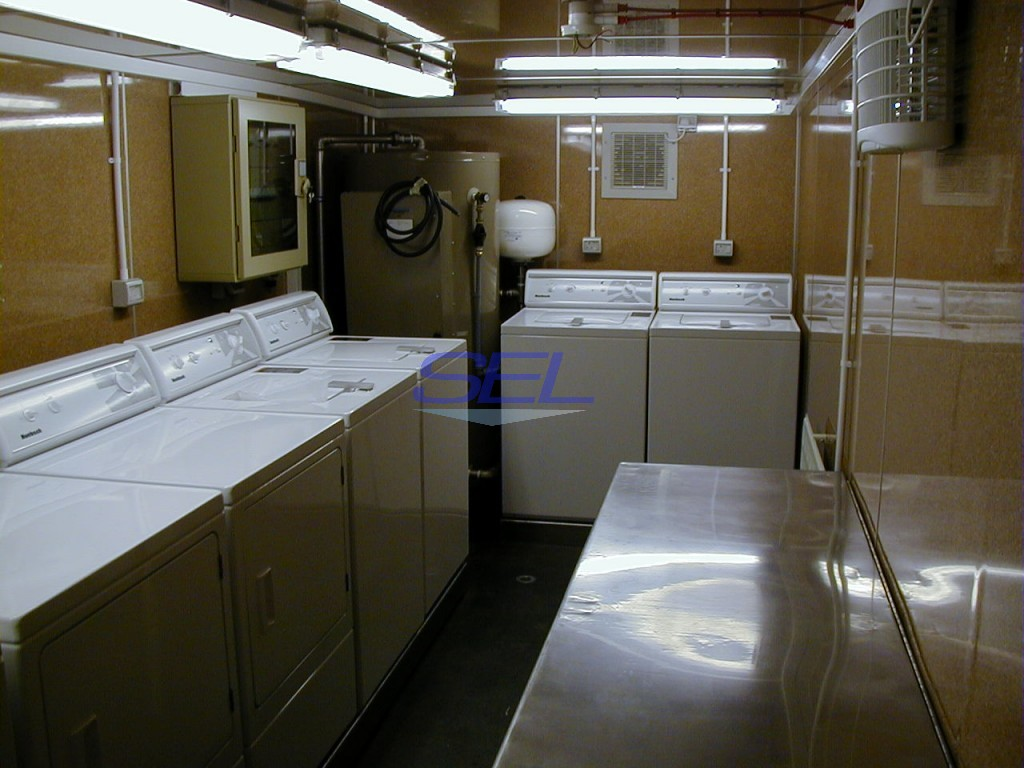 Containerised Laundry Unit