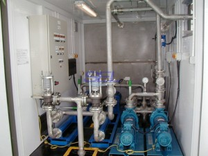 Containerised Pumphouse