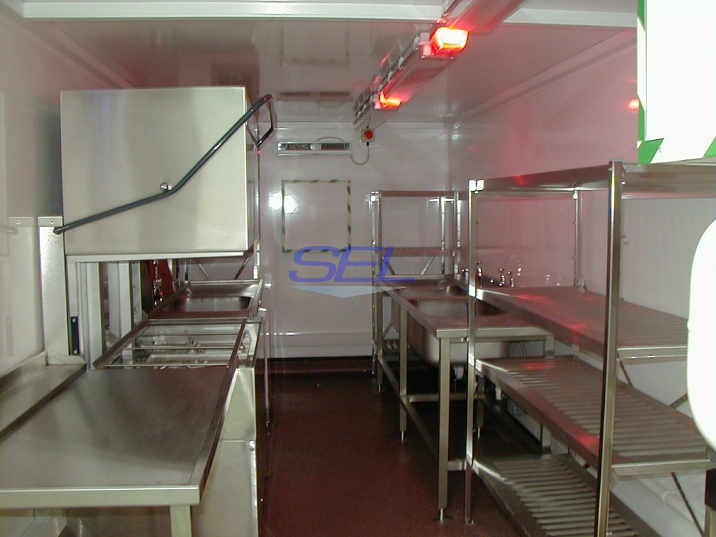 Containerised Sanitisation Unit