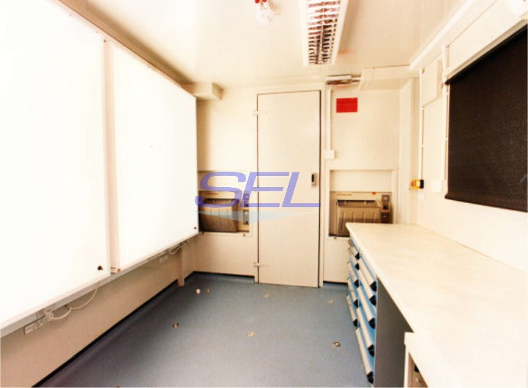 Containerised X-Ray - Dark Room