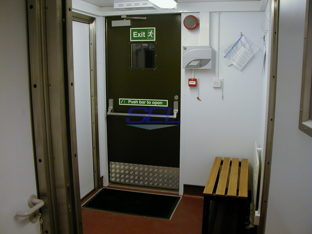 Crew Changeroom Unit