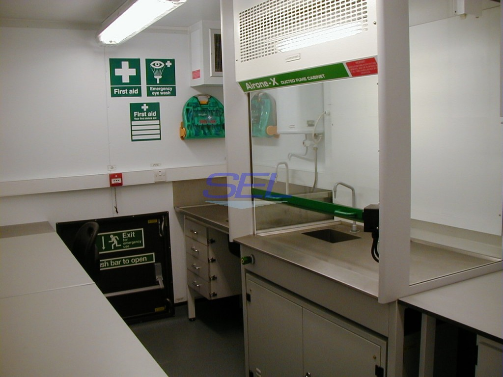 Fuel Testing Laboratory Container 2