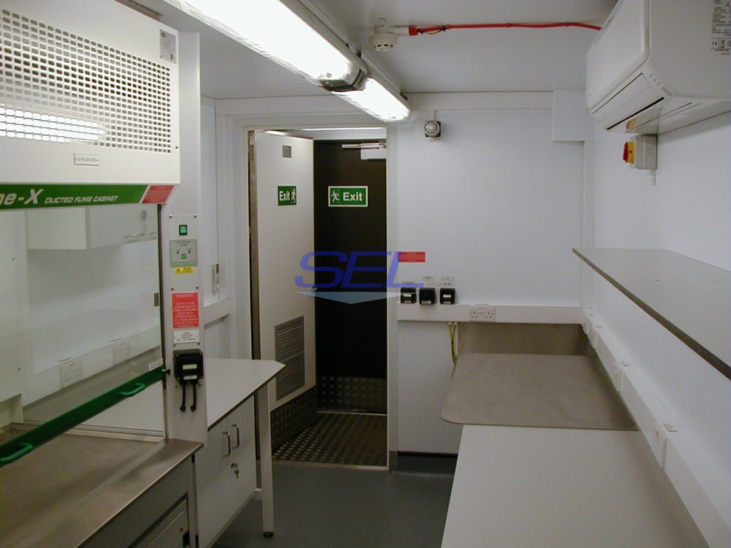 Fuel Testing Laboratory Container
