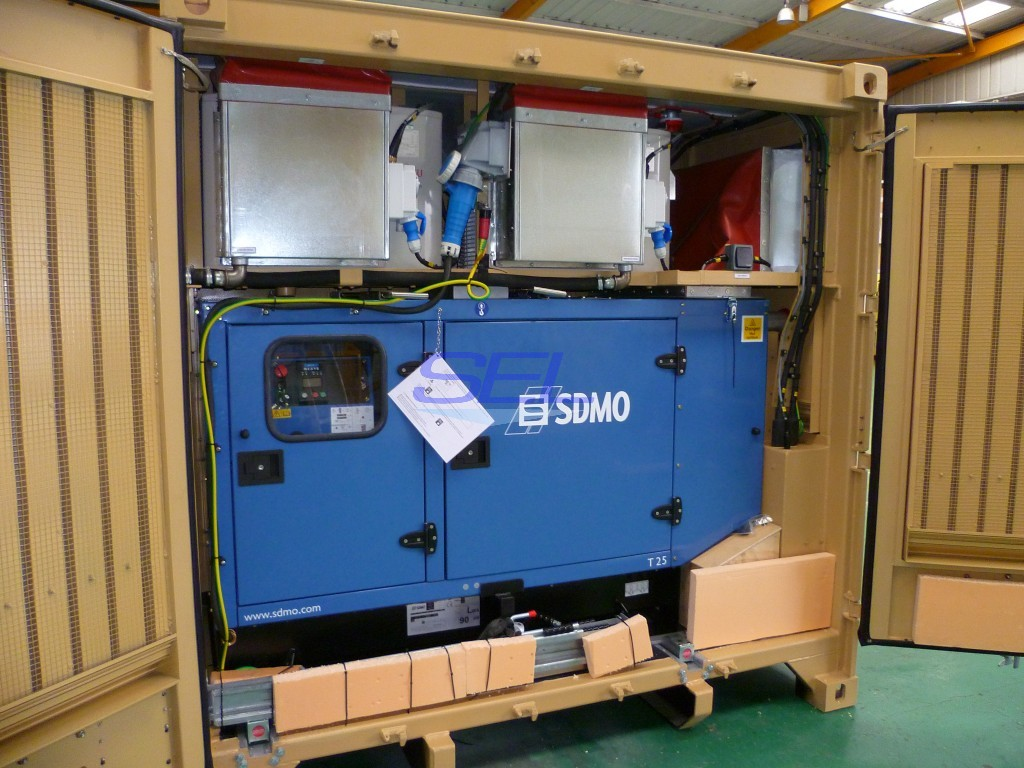 Generator and Air Con. Plant Enclosure