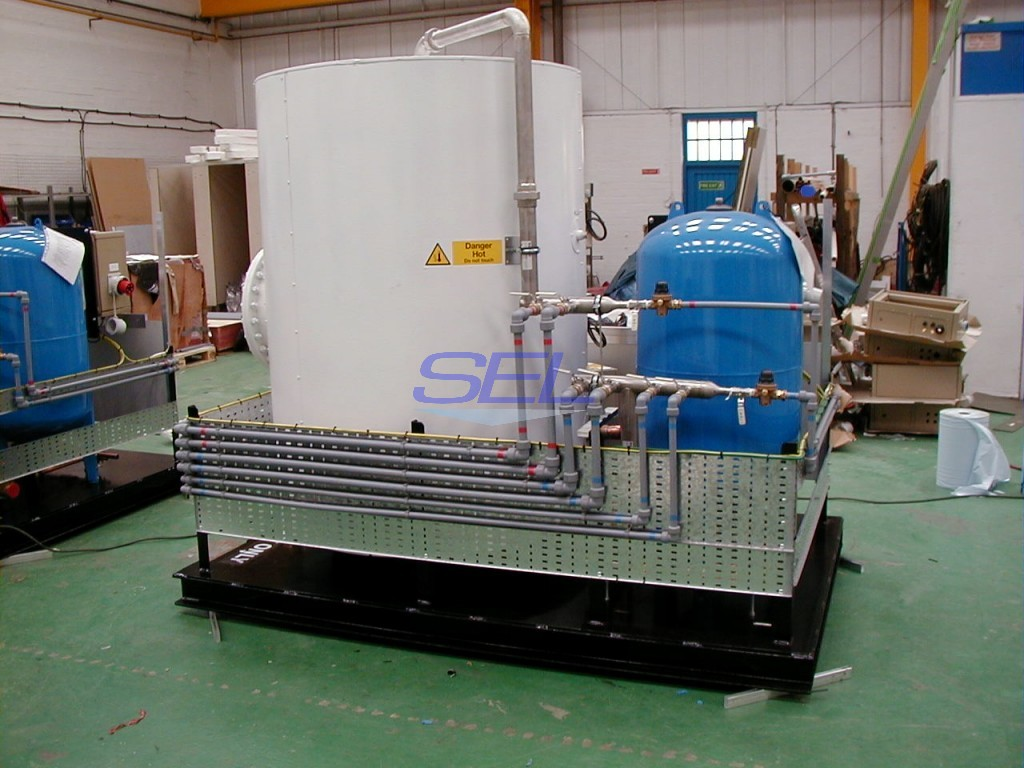 Hot Water Production Skid
