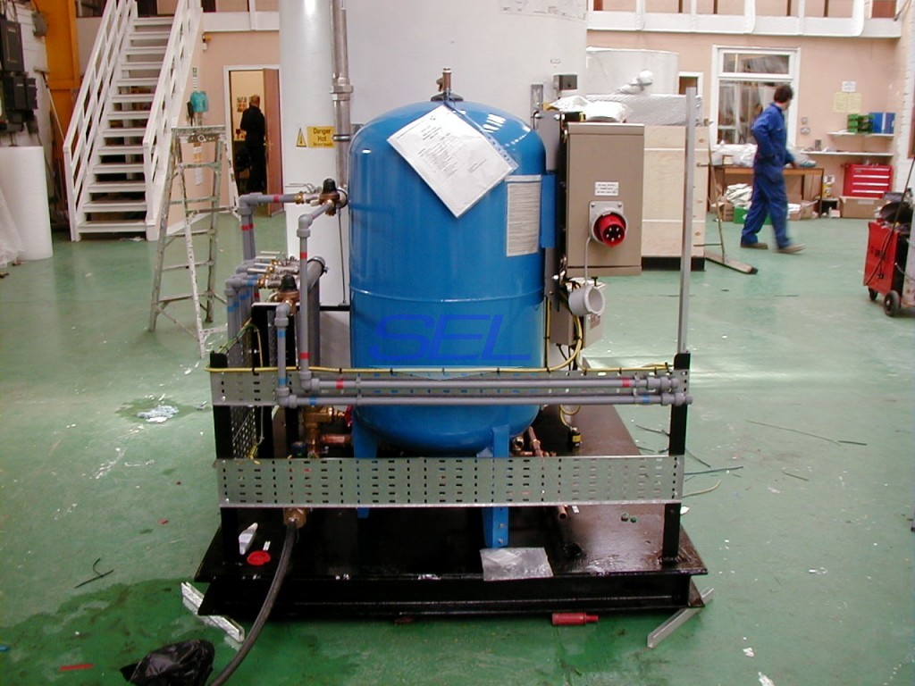 Hot Water Supply Skid