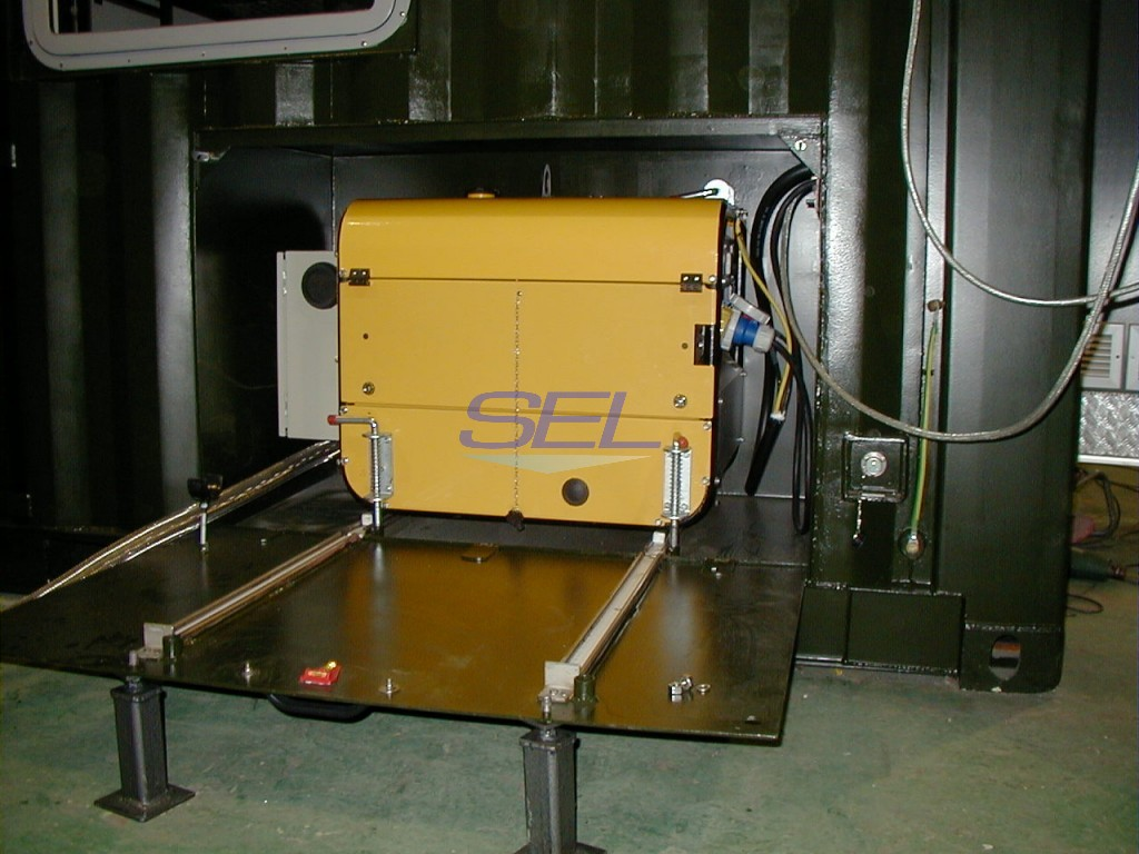On Board Generator Enclosure
