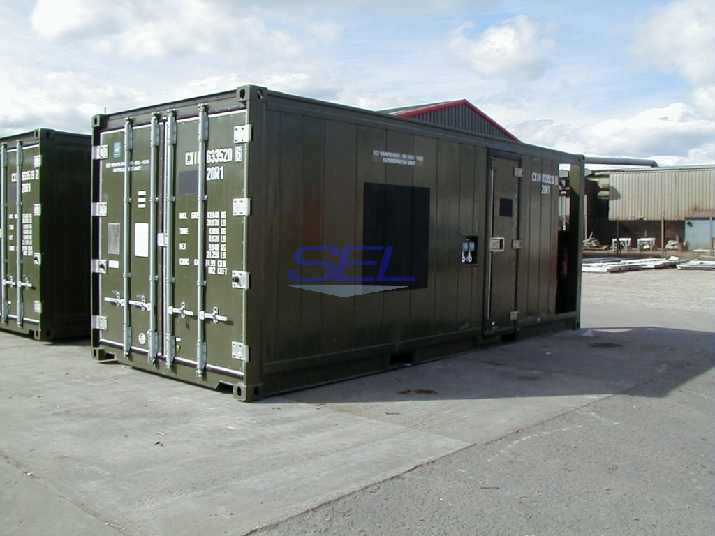 Refrigerated - Freezer Container