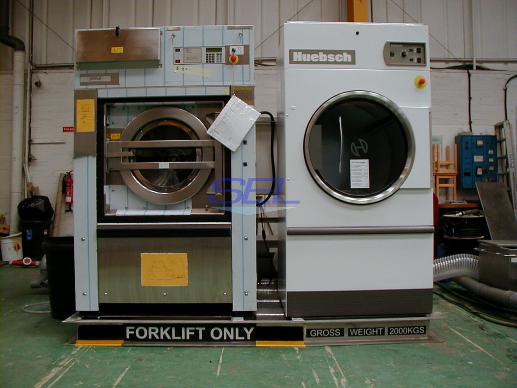 Skid Mounted Laundry Package