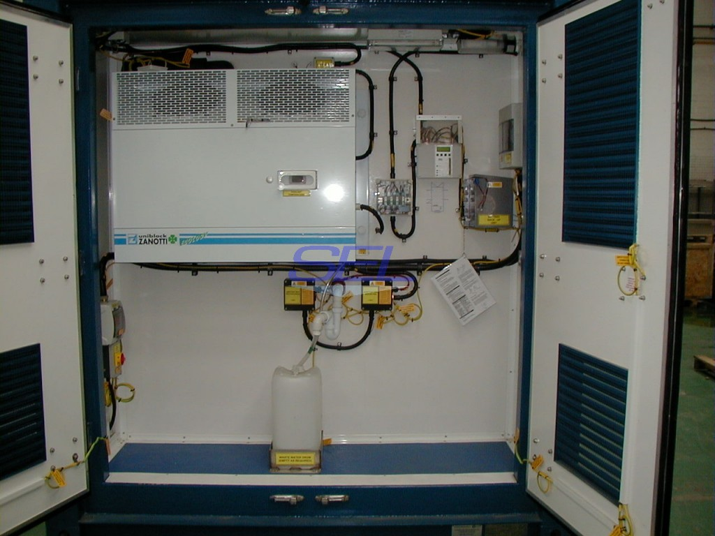 Temperature Critical Control Plant Room