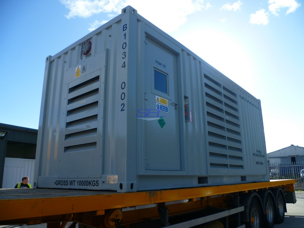 20ft Power Generation Module